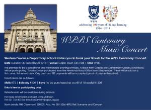 WPPS Centenary Music Concert